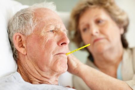 Người cao tuổi bị sốt – Cách xử lý